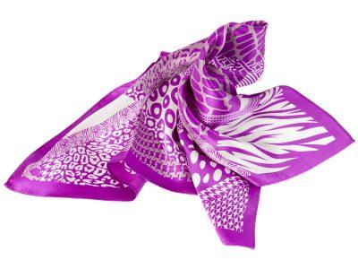 apaszka jedwabna scarf_trapez_fiolet