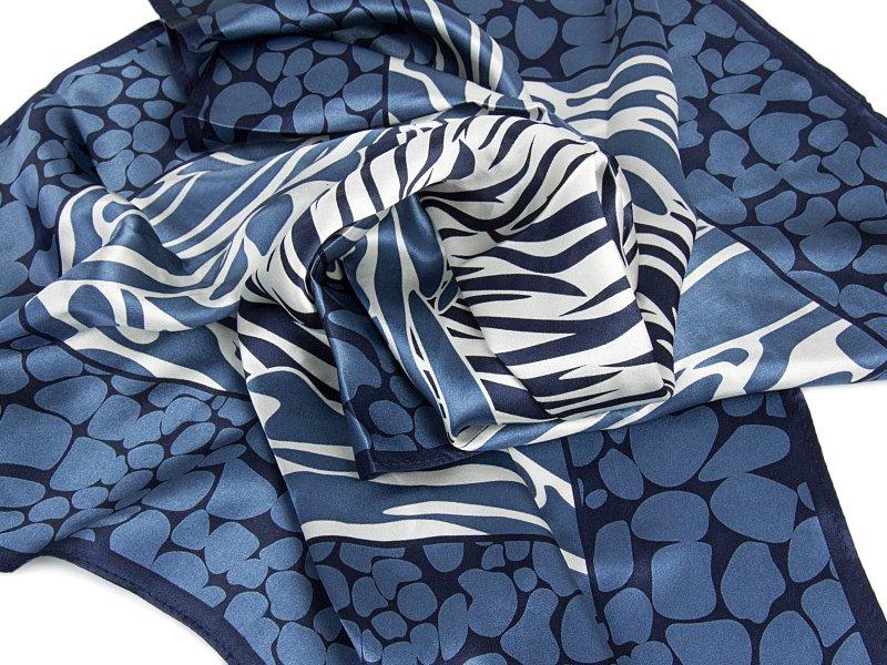 apaszka z jedwabiu lucy-blue-2