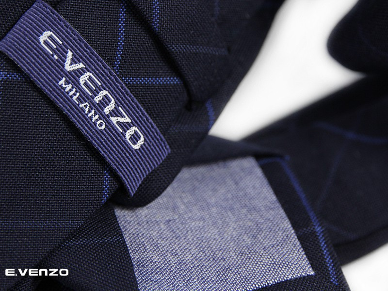 krawaty bawełniane venzo