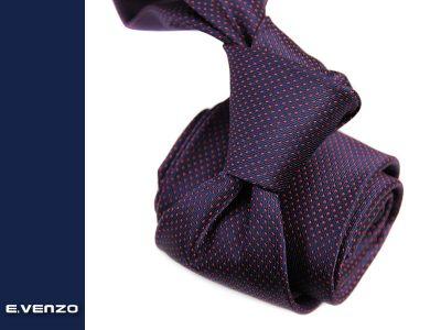 krawat z mikrofibry 654