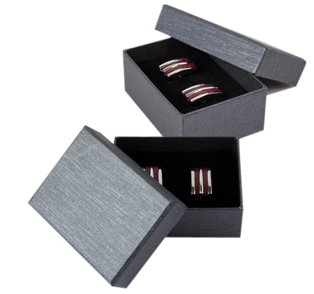 Przykładowe pudełko na spinki