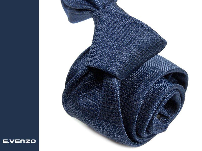krawat jedwabny Venzo 528