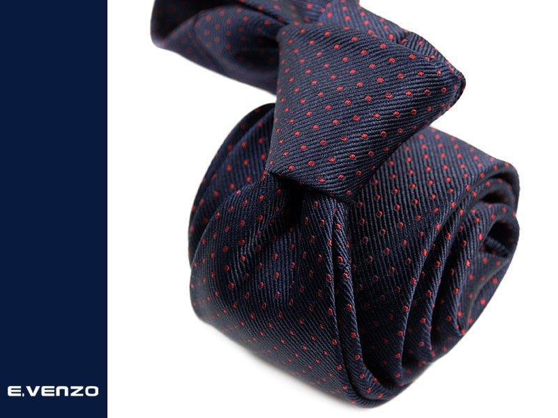 krawat jedwabny Venzo 529