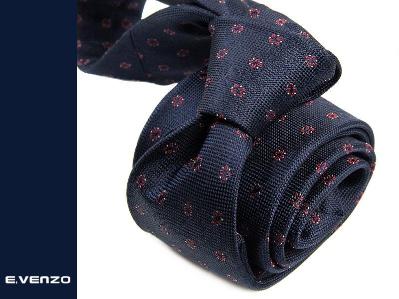 krawat jedwabny Venzo 530
