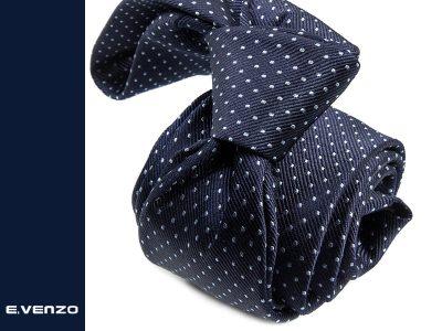 krawat jedwabny Venzo 531