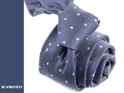 Krawat jedwabny Venzo 525