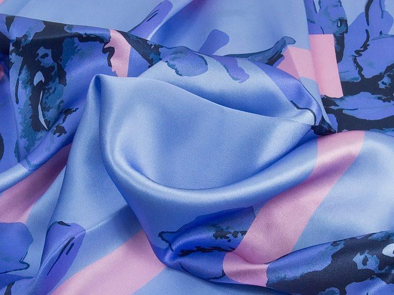 Apaszka w kwiaty Magnolia-IT05