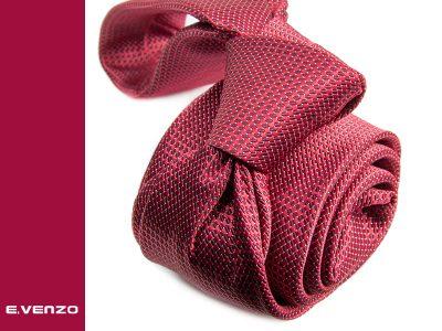 Krawat z mikrofibry VENZO m691