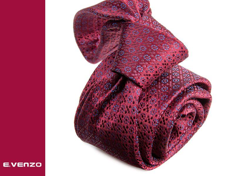 Krawat z mikrofibry VENZO m694