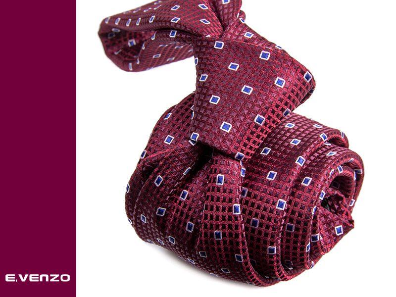 Krawat z mikrofibry VENZO m695