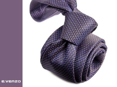 Krawat z mikrofibry VENZO m699