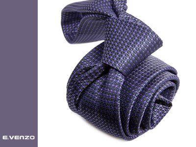 Krawat z mikrofibry VENZO m700