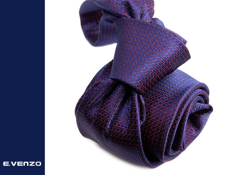Krawat z mikrofibry VENZO m701