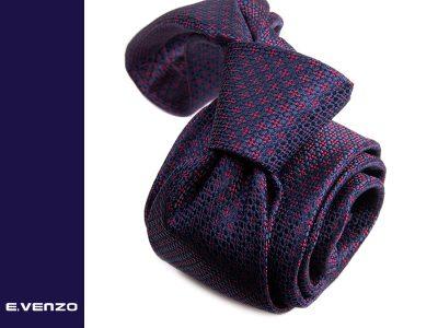 Krawat z mikrofibry VENZO m702