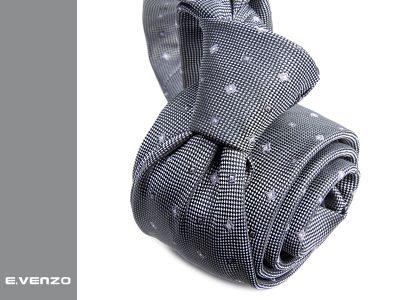 Krawat z mikrofibry VENZO m704