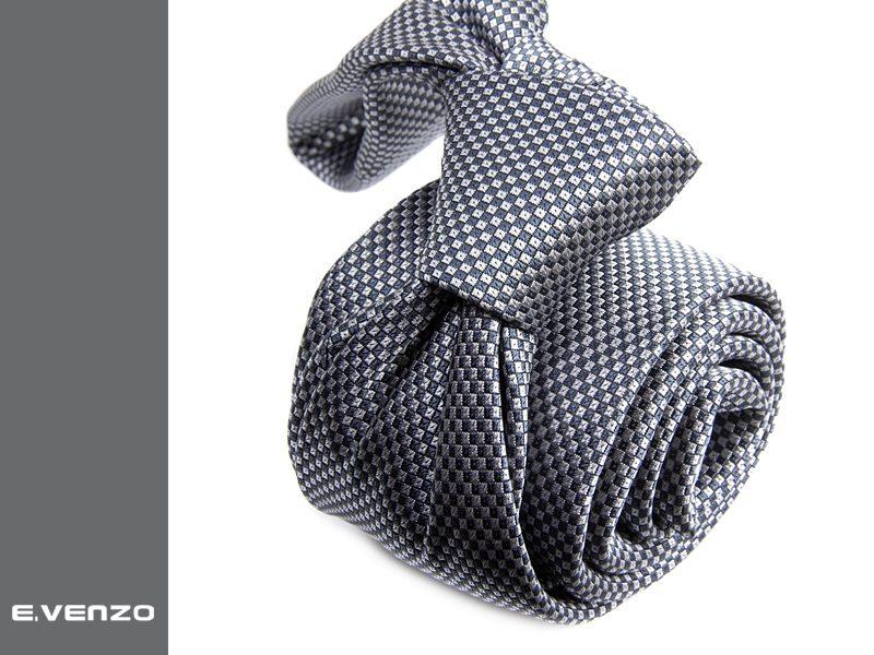 Krawat z mikrofibry VENZO m705