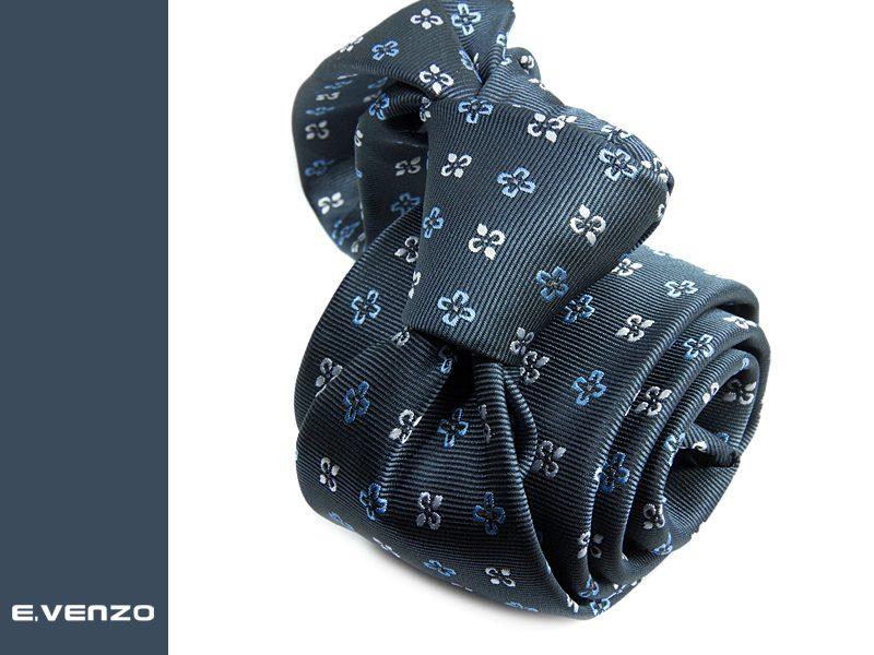 Krawat z mikrofibry VENZO m707