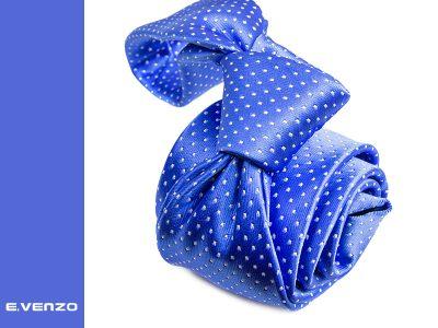 Krawat z mikrofibry VENZO m708