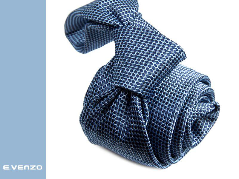 Krawat z mikrofibry VENZO m709