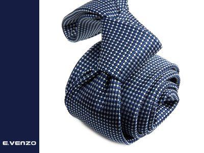 Krawat z mikrofibry VENZO m710