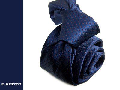 Krawat z mikrofibry VENZO m712