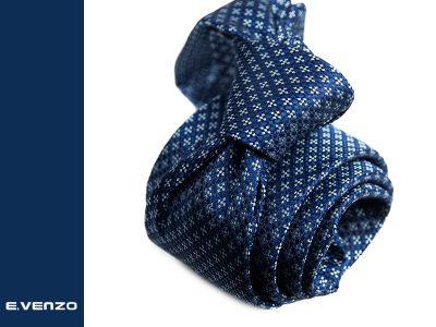 Krawat z mikrofibry VENZO m713