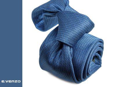 Krawat z mikrofibry VENZO m714