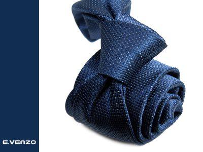 Krawat z mikrofibry VENZO m715