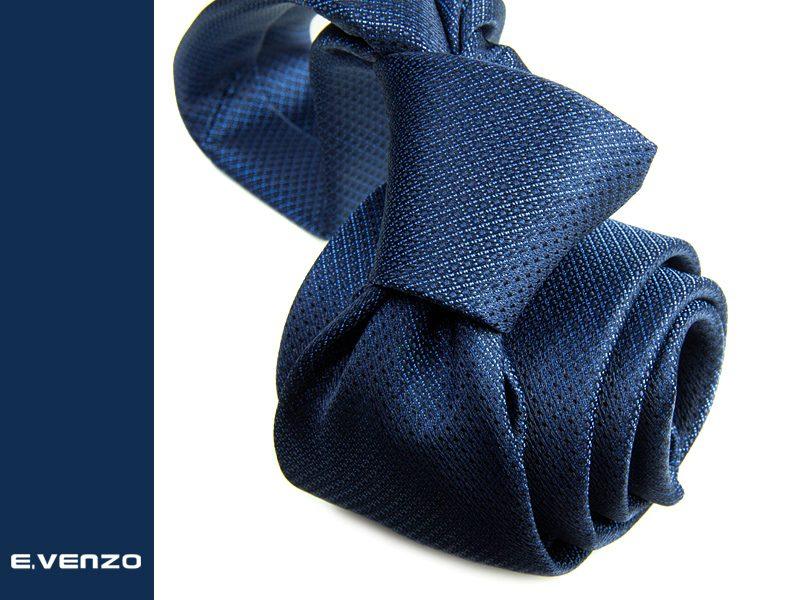 Krawat z mikrofibry VENZO m717