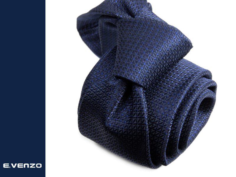 Krawat z mikrofibry VENZO m719