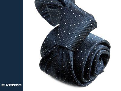 Krawat z mikrofibry VENZO m720