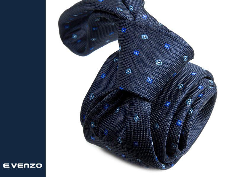 Krawat z mikrofibry VENZO m721