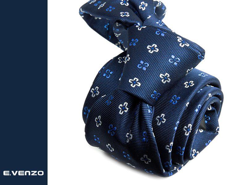 Krawat z mikrofibry VENZO m722
