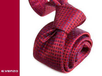 Krawat z mikrofibry VENZO m723