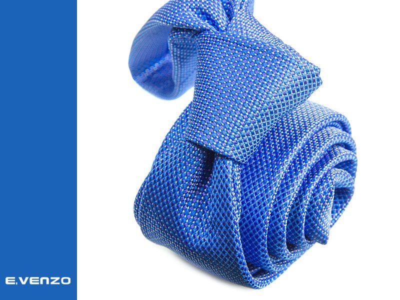 Wąski krawat z mikrofibry VENZO m730
