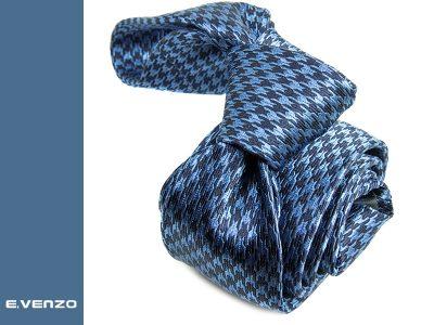 wąski krawat jedwabny Venzo 534