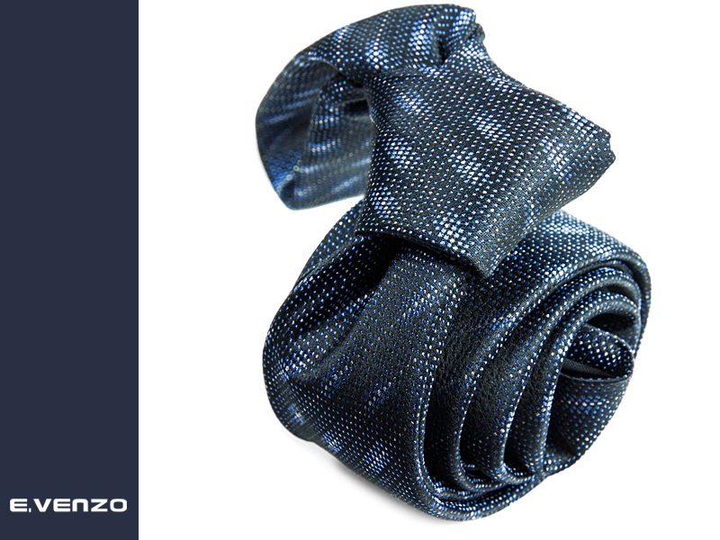 wąski krawat jedwabny Venzo 537