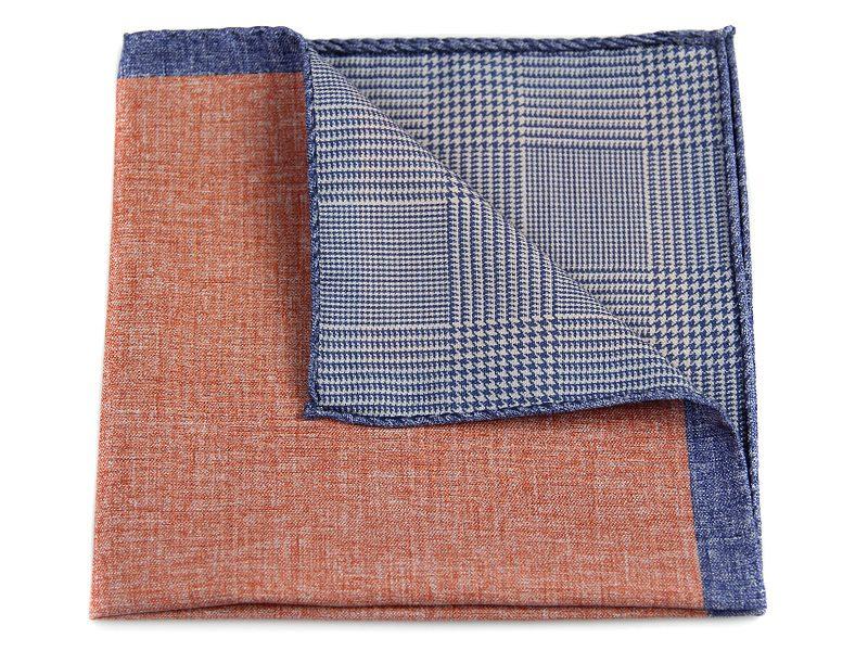 Poszetka jedwab z bawełną sc018