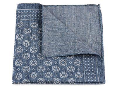 Poszetka jedwab z bawełną sc019