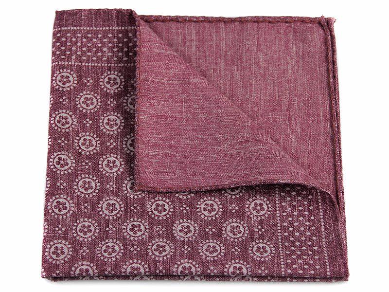 Poszetka jedwab z bawełną sc020