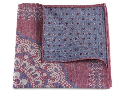 Poszetka jedwab z bawełną sc021