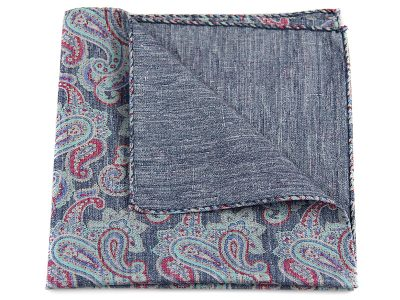 Poszetka jedwab z bawełną sc026