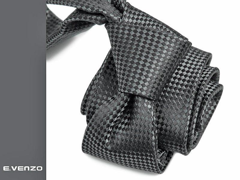 krawat jedwabny venzo silk463