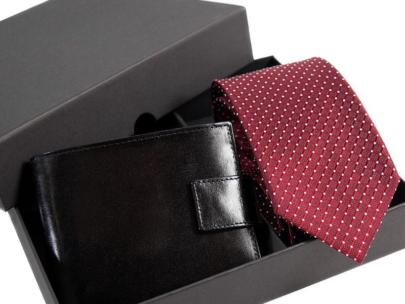 zestaw krawat 501 KPOR02+ porftfel -