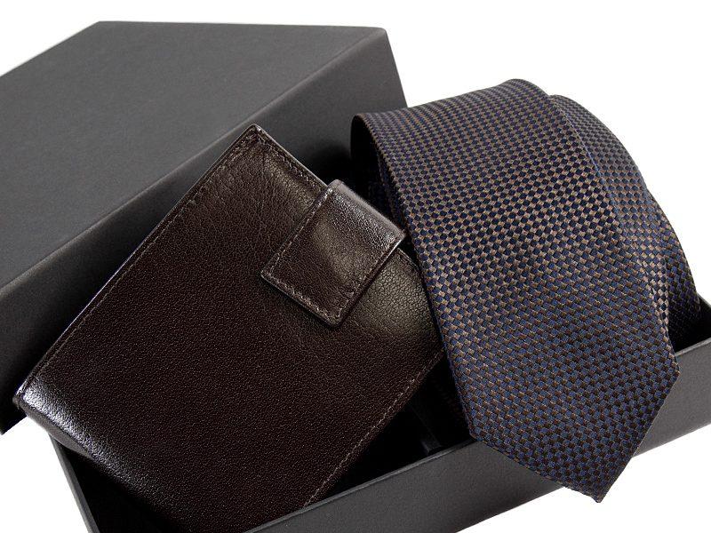 zestaw krawat 464 KPOR03+ porftfel -