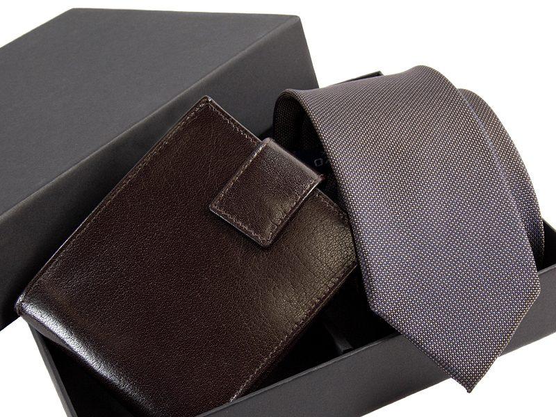 zestaw krawat 517 KPOR04+ porftfel -