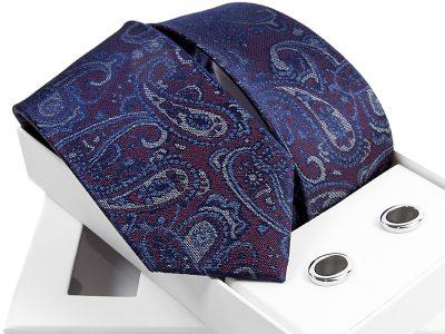 zestaw krawat + spinki venzo B001-
