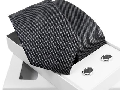 zestaw krawat + spinki venzo B002-