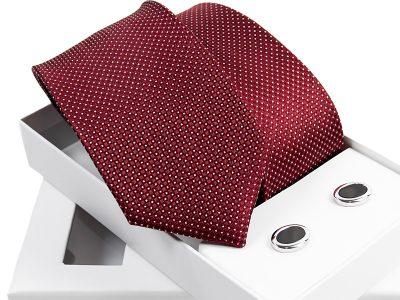 zestaw krawat + spinki venzo B003-