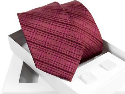 zestaw krawat + spinki venzo B004